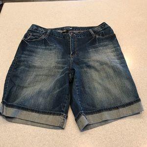 Lane Bryant 20W jean shorts